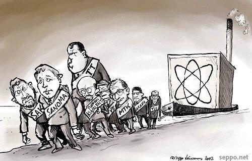 Ydinvoiman lautturit