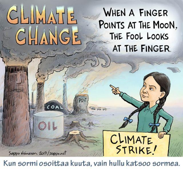 Ilmastolakko - Greta Thunberg