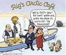 Rigs Arctic Café - Shell poraa öljyä Arktiksella
