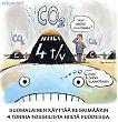 Suomalaisen keskimääräinen hiilipäästö ilmakehään