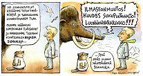 Luonnontutkimus mammutti ja hiljaiset signaalit