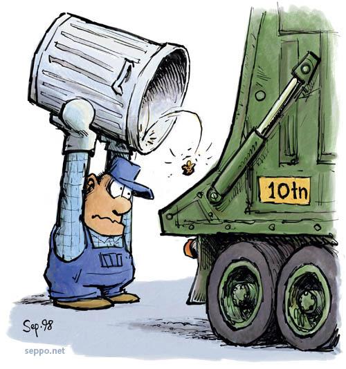 Jätteen vähentäminen