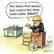 Rakennustyömaan jätevahti