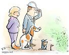 Ympäristövalvoja tarkastuksella