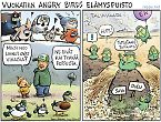 Vuokatti Angry Birds elämyspuisto ja Talvivaara