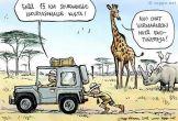 Ekoturistit Afrikassa