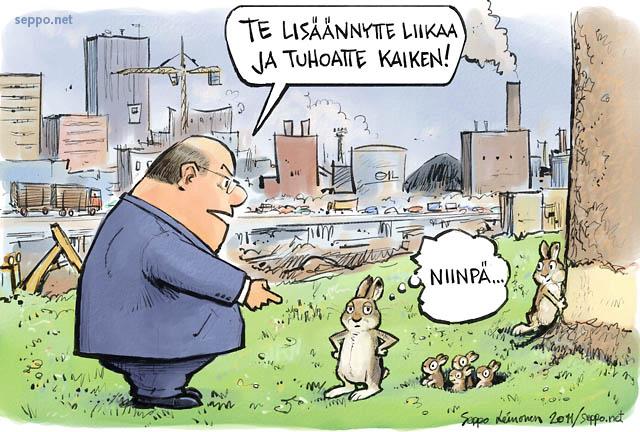 Ihminen ja kanit