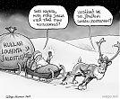Joulupukki - kultasormus ja kultakaivoksen jätteet