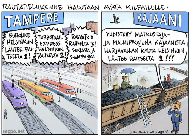 Rautateiden yksityistäminen
