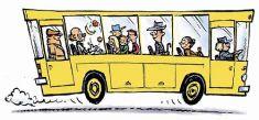 Bussi - joukkoliikenne