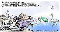 Metsäteollisuus heittää Joutsenmerkillä vesilintua