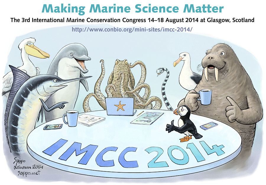 Marine animals workshop - IMCC2014
