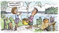 Hajakuormitus, fosfaatti ja vesistön rehevöityminen