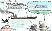 Öljytankkeri Itämerellä