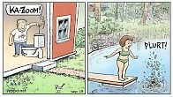 Hajajätevesi - vesivessa ja vesistö