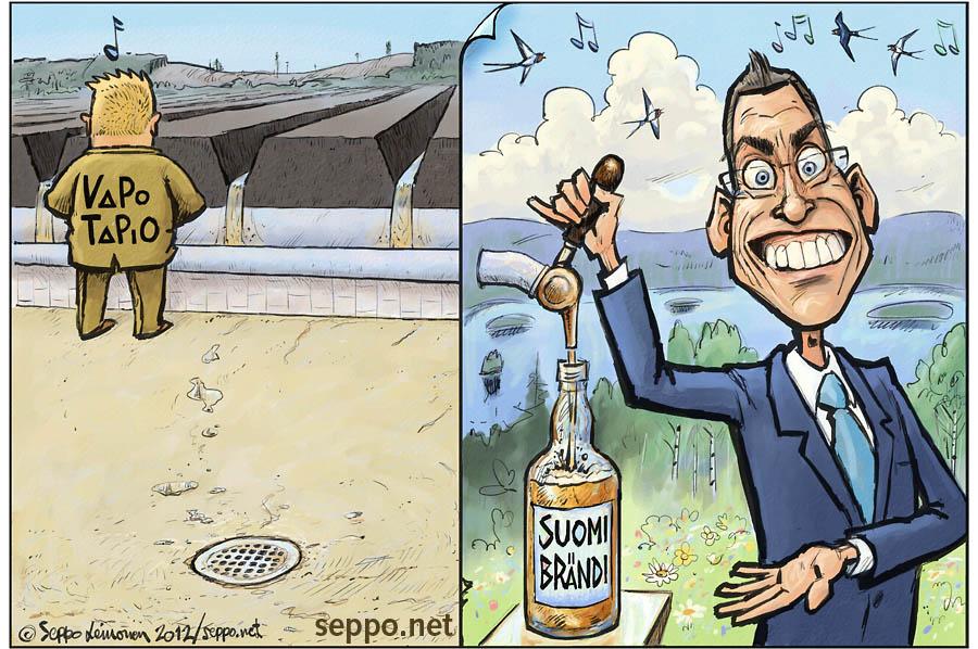 Turve - soiden ojitus ja Suomi brändi