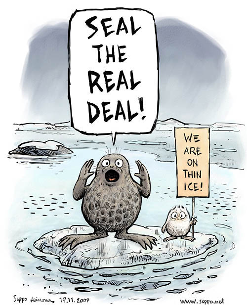 Seal the real climate deal!